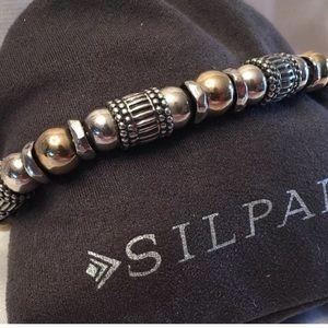 Silpada Sterling & 14k Gold Filled bracelet